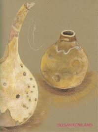 Sue's fantastic gourd drawing