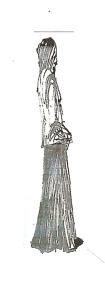 figure in a long skirt