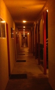 looking down a hallway copy