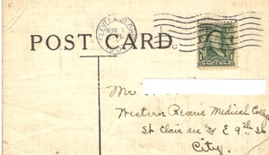 post with postmark