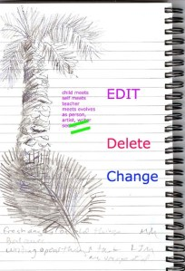 edite delete change