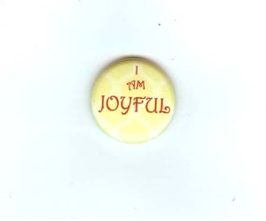 i am joyful