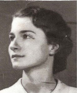 mother as a young woman